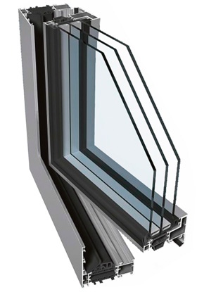 PONZIO PE 78 Süsteemil on neljakambriline struktuur koos eurostandardile vastava soon-profiilide ja kaitserõngaga ning see on ette nähtud eriti suurte termoisolatsiooni nõuetega (Uf = 1,2 W/m2K) akende ehitamiseks. Lengi profiili paksus on 78 mm ja raami profiili paksus 86 mm. Süsteem võimaldab kasutada laia valikut ja neid on lihtne kokku ehitada. Neljakambrilise struktuuri ja lisatugevduselementidega võimaldab süsteem ehitada suuremõõtmelisi konstruktsioone..